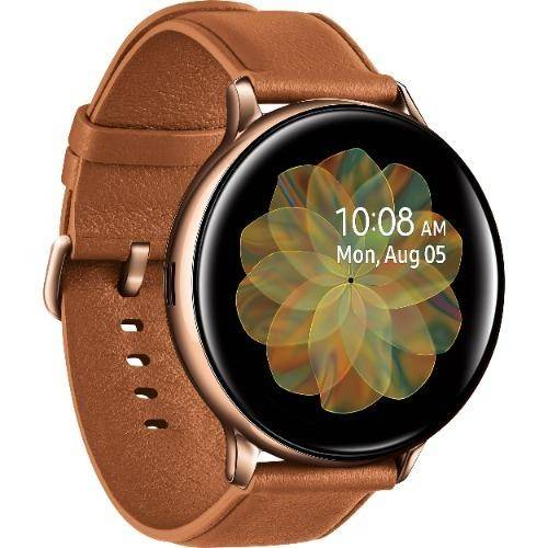 Used And Refurbished Secondhand Samsung Galaxy Watch Active 2 44mm Bluetooth + LTE - - Gold - As New condition - Reebelo.