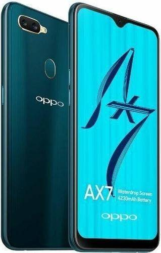 Used And Refurbished Secondhand Oppo AX7 -64GB - Glaze Blue - Mint condition - Reebelo