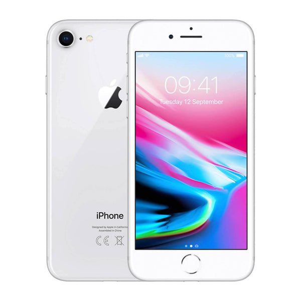 Used And Refurbished Secondhand Apple iPhone 8 - Silver - 64GB - Very good condition - Reebelo