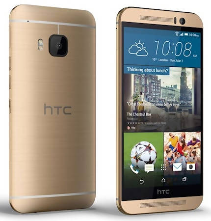 Used And Refurbished Secondhand HTC M9 - Gold - 32GB - Mint condition - Reebelo