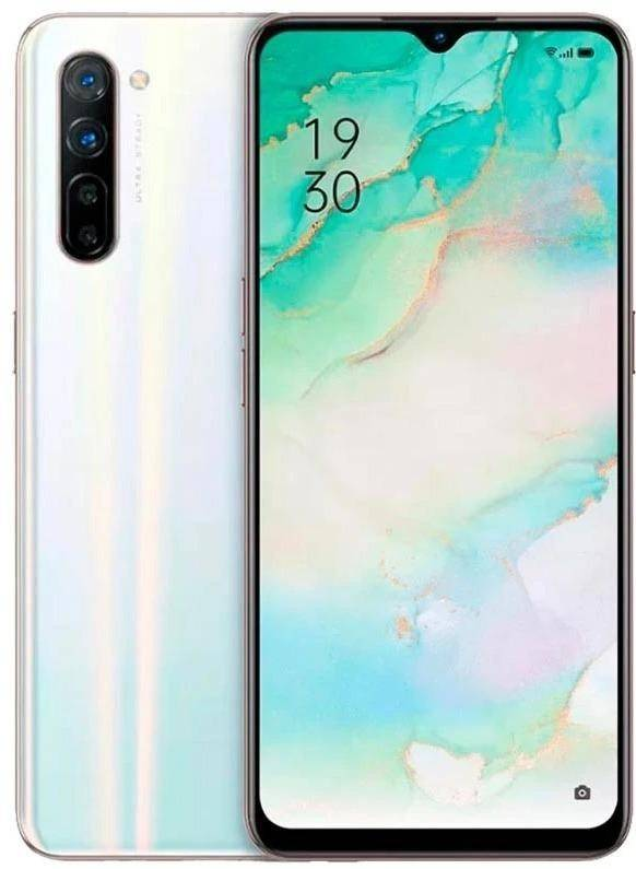 Used And Refurbished Secondhand Oppo Reno 3 -128GB - Sky White - Very good condition - Reebelo.
