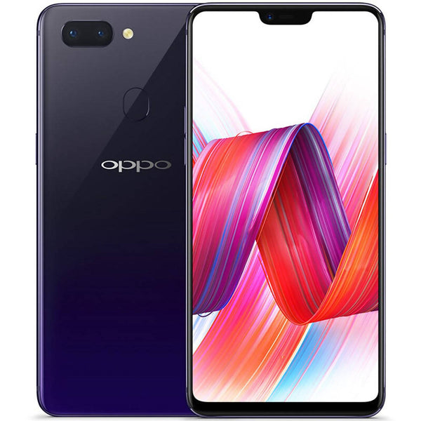 Used And Refurbished Secondhand Oppo R15 - Purple - 128GB - Mint condition - Reebelo