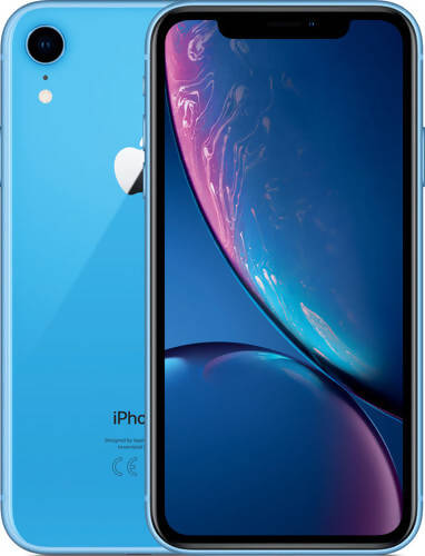 Used And Refurbished Secondhand Apple iPhone XR - Blue - 128GB - Very good condition - Reebelo