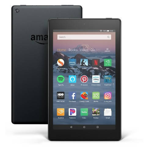 Used And Refurbished Secondhand Amazon Fire HD 8 2020 - Black - 32 GB - Reebelo