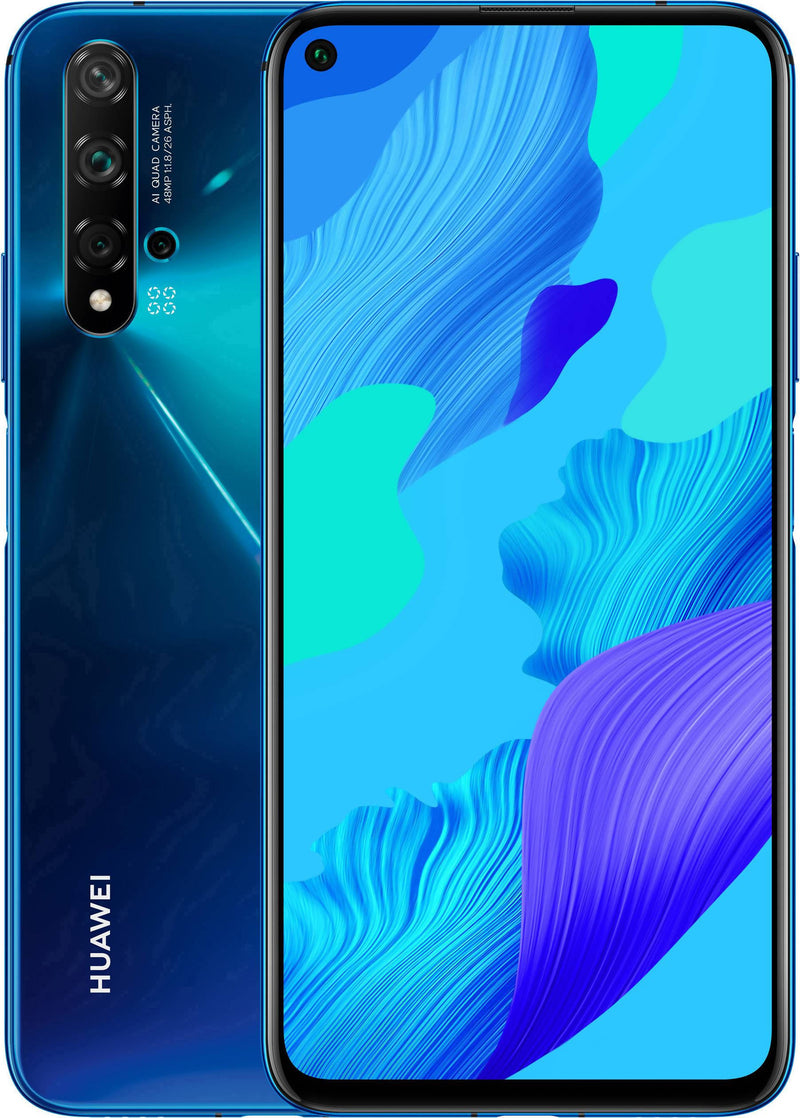 Used And Refurbished Secondhand Huawei Nova 5T - Blue - 128GB - Reebelo