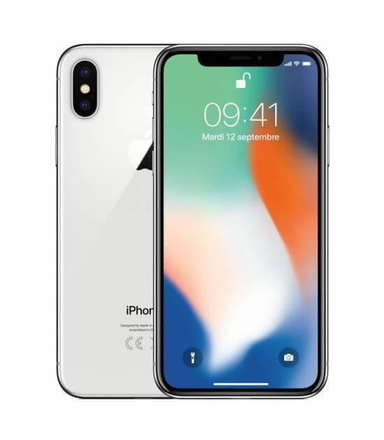 Apple iPhone X | Silver - 256GB | Gold condition