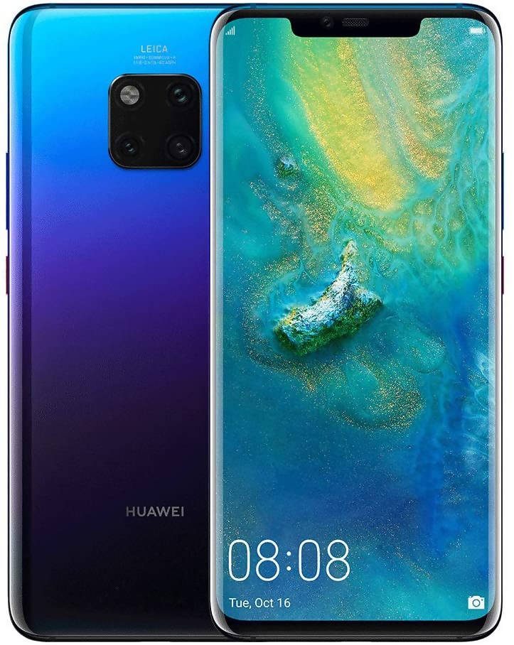 Used And Refurbished Secondhand Huawei Mate 20 Pro - Twilight - 128GB - Very good condition - Reebelo
