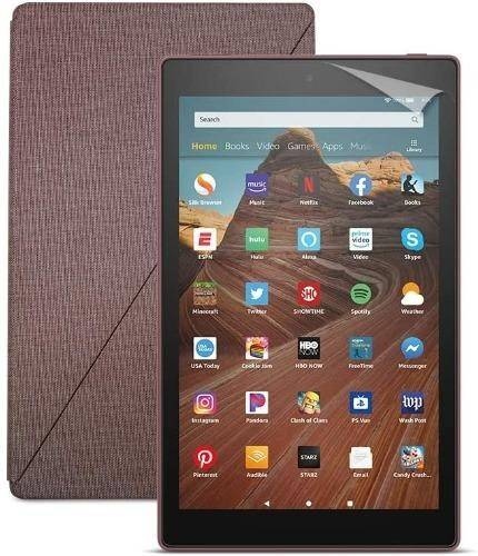 Amazon Fire HD 10 -32GB - Plum - As new condition