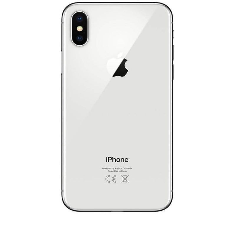 Used And Refurbished Secondhand Apple iPhone X - White - 256GB - Good condition - Reebelo
