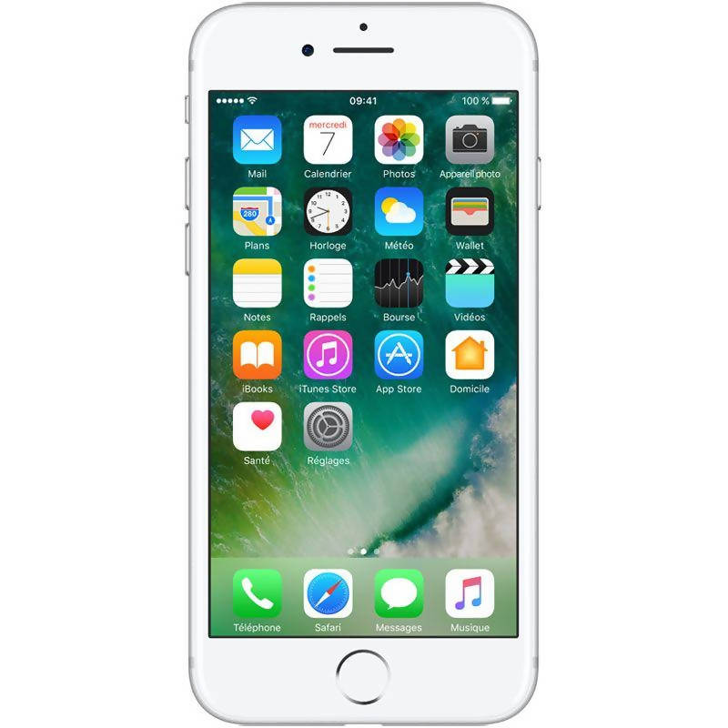 Used And Refurbished Secondhand Apple iPhone 7 Plus - Silver - 256 GB - Reebelo