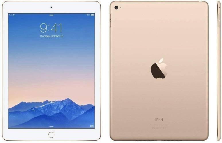 Used And Refurbished Secondhand Apple iPad Air 2 WiFi -16GB - Gold - Very good condition - Reebelo.