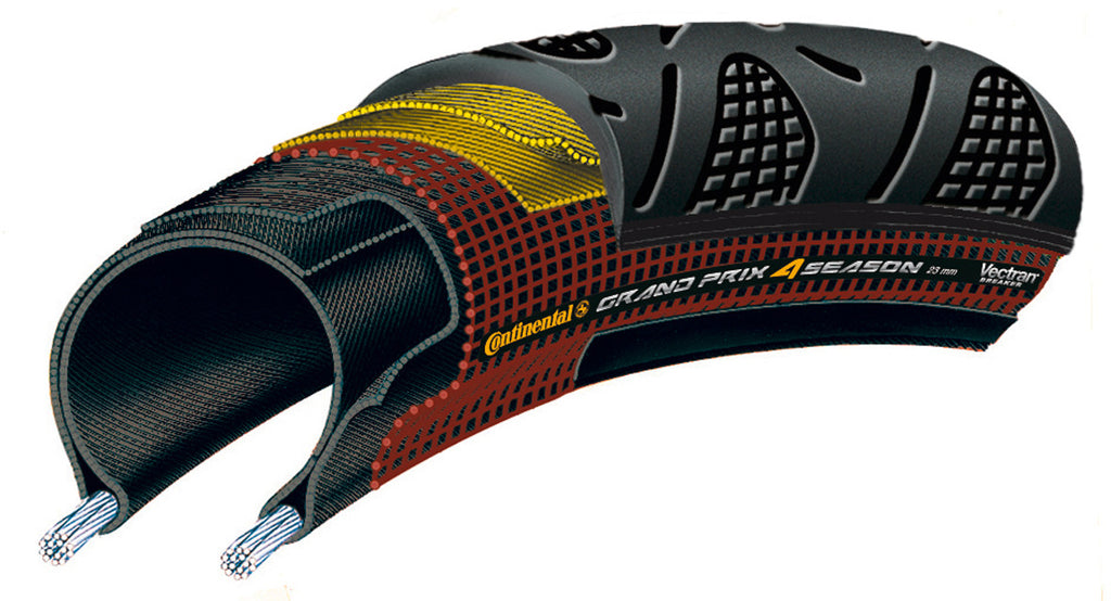 Grand Prix 4 Season DuraSkin - Vectran - Folding Tyre