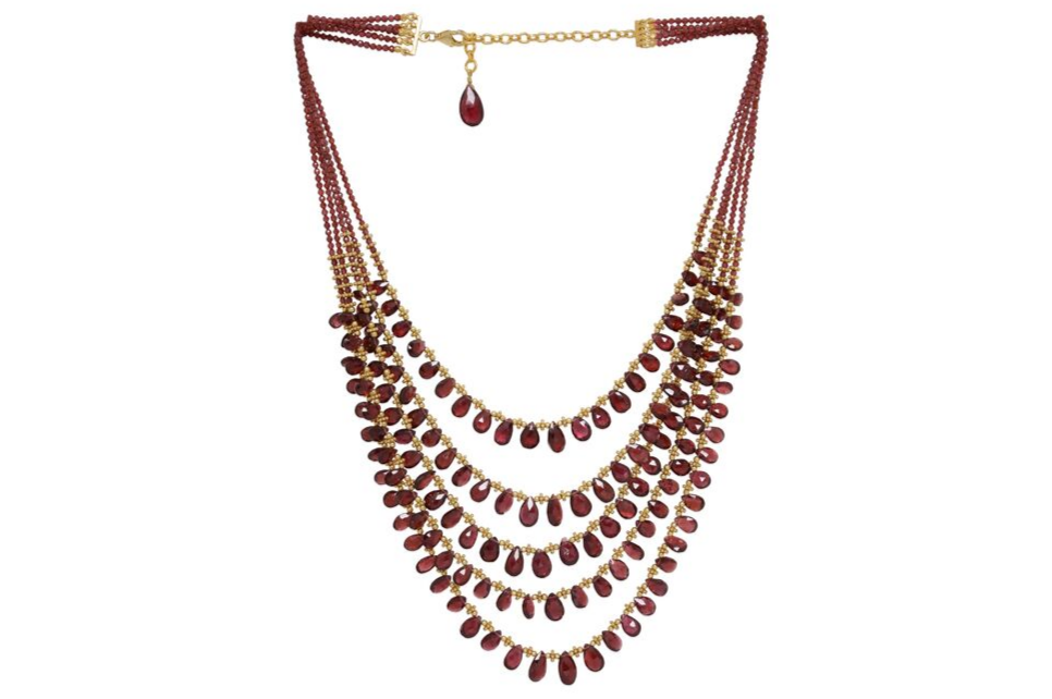 DIVA 5 LINE NECKLACE