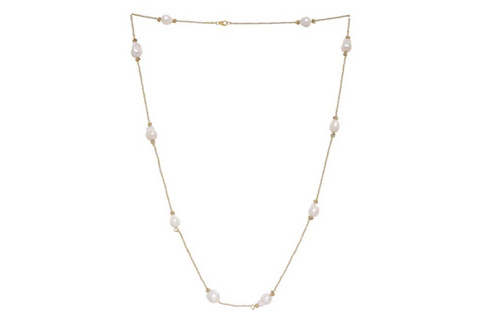 BAROQUE PEARL LONGER NECKLACE