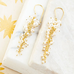 SARA CASCADE EARRINGS