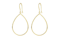 SCARLETT PEAR SHAPE FRAME DROPS IN GOLD