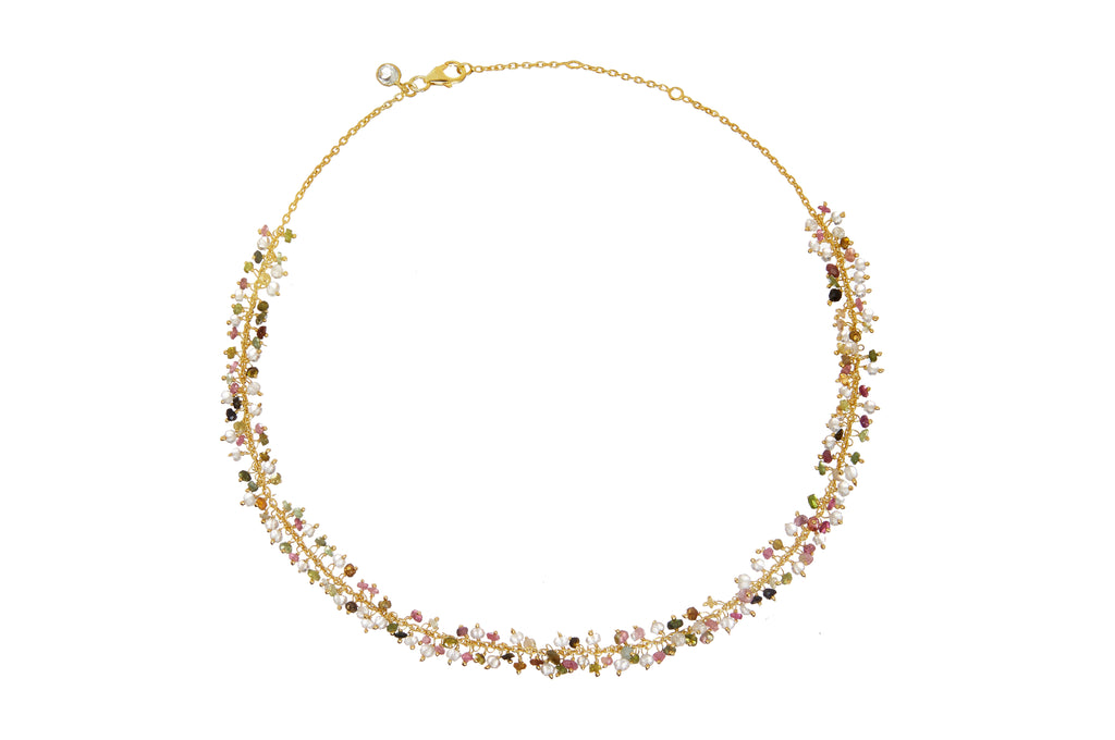 SARA CLUSTER NECKLACE