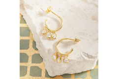 LOLA HOOP EARRINGS