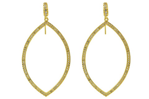 CHARLOTTE DIAMOND SET EARRINGS