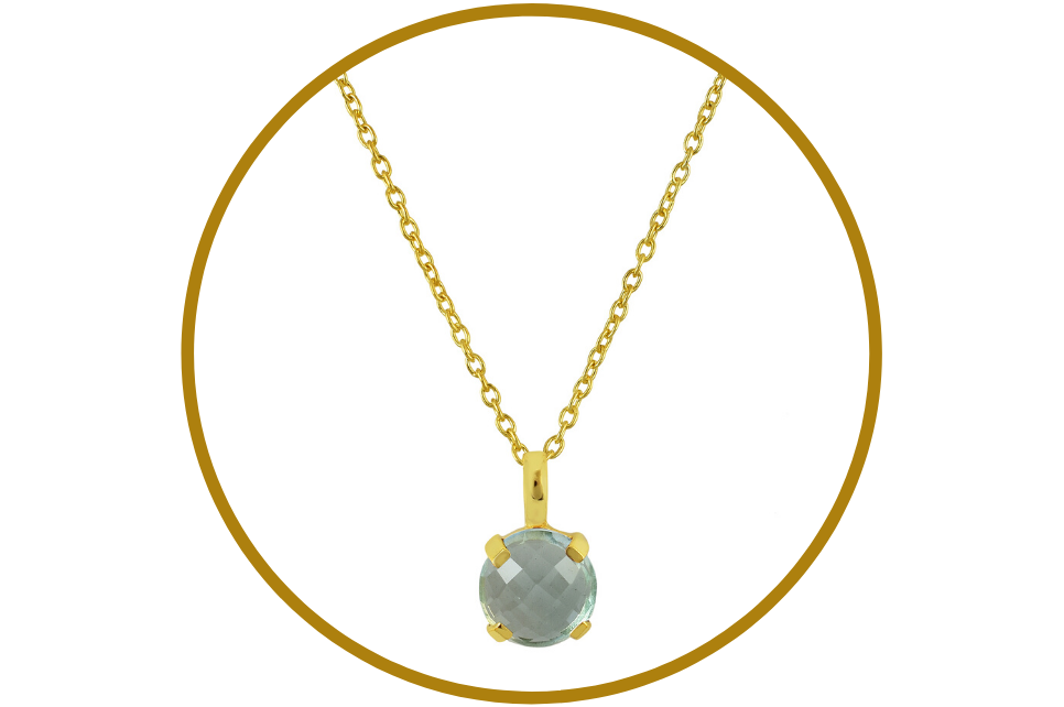 ELISA GEMSTONE NECKLACE