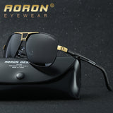 AORON Men's Polaroid Sunglasses Men Goggles Luxury Design Aluminum Magnesium Frame Sun Glasses Vintage Oculos de sol