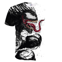 ZOOTOP BEAR 2019 t shirt men Newest Venom Marvel t-shirt 3D Printed T-shirts Men Women Casual Shirt Fitness T Shirt Tees Tops