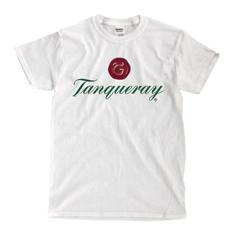 Tanqueray Gin Logo White T-Shirt - Ships Fast! High Quality!