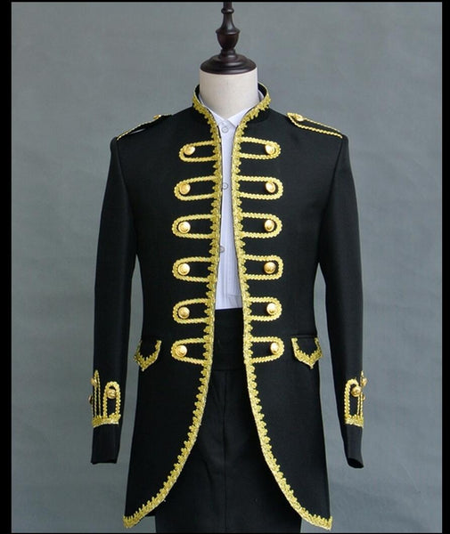 2019 New fashion costume fashion vintage wedding dress men set suit formal dress singer stage costumes clothing