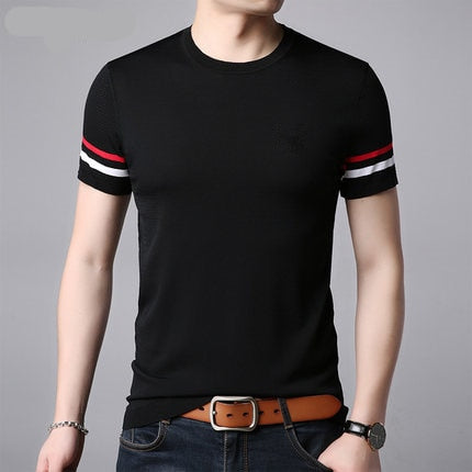 Men's Fashion Casual Short Sleeve T-Shirt 712