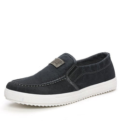 Men Canvas Shoes Spring Autumn Slip-ON Retro Style Breathable Fashion Casual Students Shoes S1251-1275