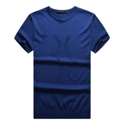 Billionaire italian couture men's t-shirt summer short-sleeve 2016 elegance comfortable o-neck breath fabric free shipping