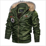 77City Killer Thicken Winter Military Jacket Men Plus Size 4XL Jaqueta masculina Casual Air Force Flight Jacket Tactical Jacket