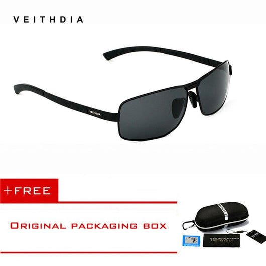VEITHDIA Brand Men's Sunglasses Polarized Sun Glasses Driving Glasses oculos de sol masculino Eyewear Accessories shades For Men