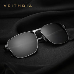 Men's Vintage Square Sunglasses Polarized UV400 Lens Eyewear Accessories Male Sun Glasses For Men/Women