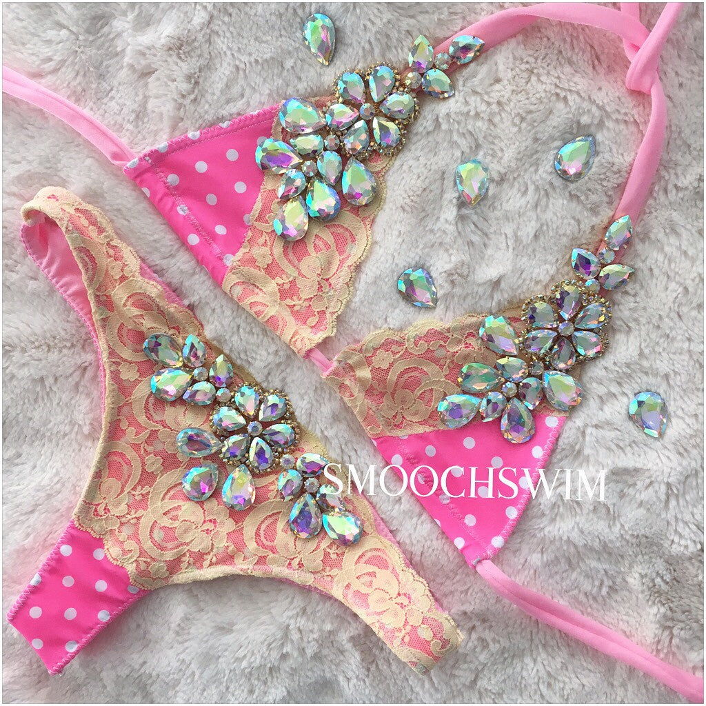 Lanaya - Smooch Swimwear, Luxury, Swimwear, bikinis, karmel, toronto, designer, miami, south beach, dubai designer, high end swimwear, monokini, top swimsuit, handmade, luxe, couture, one piece, women's bikini , swarovski, crystal bikini,
