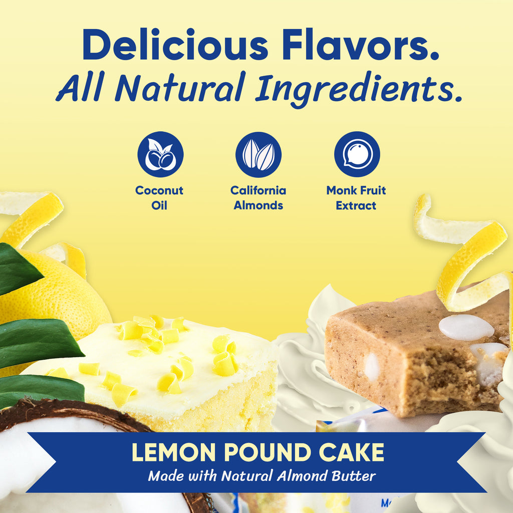 Lemon Pound Cake - Box of 12