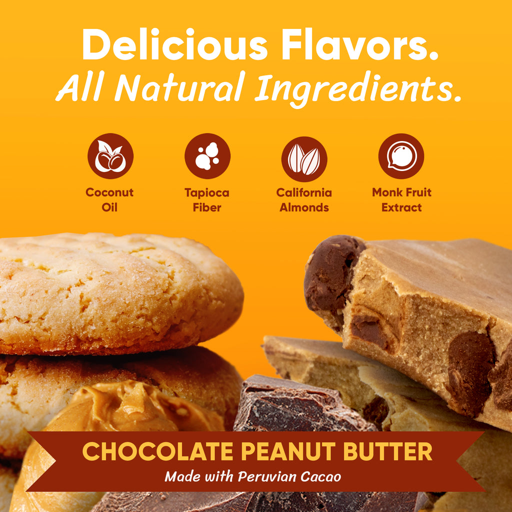 Choc. Peanut Butter - Box of 12