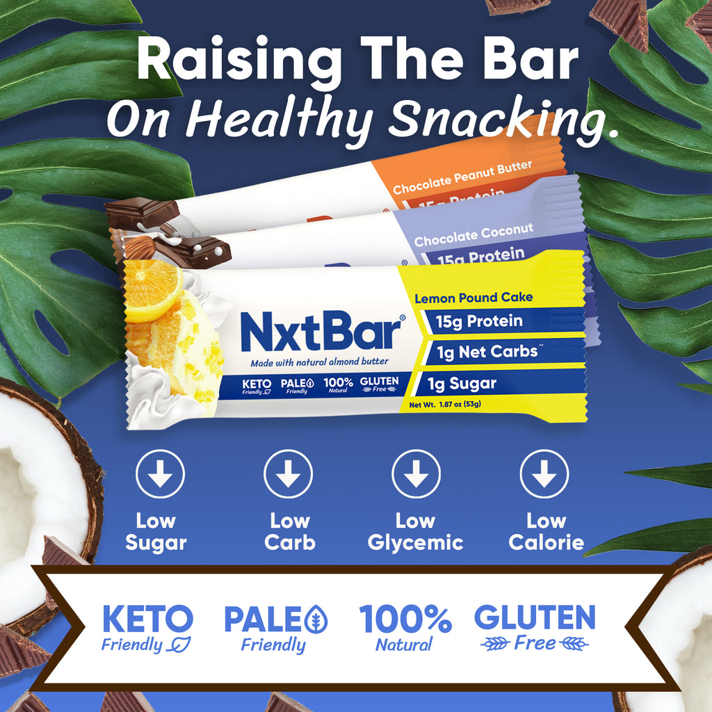 NxtBar Variety Pack - Box of 6