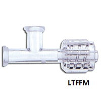 Dual slip Connector with additional Male Rotating Luer