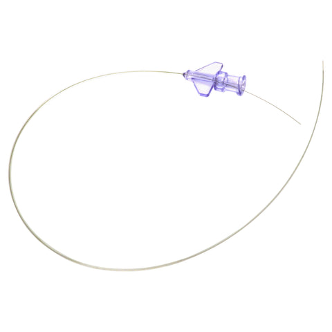 rodent tail vein catheter with stylet and luer