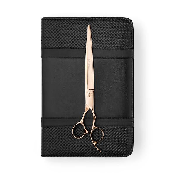 Matsui Aichei Mountain Rose Gold Offset Cutting Scissor (3534878998633)