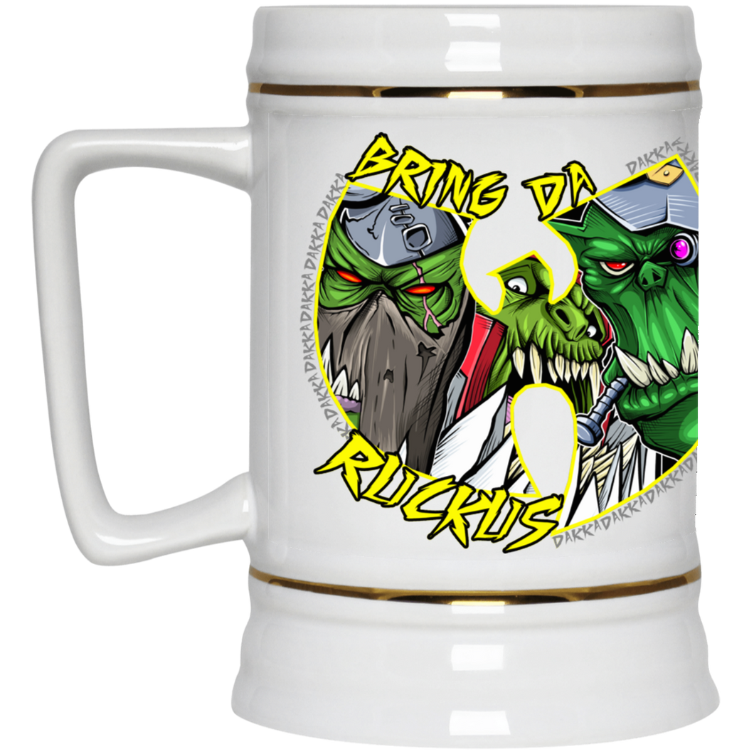 Waagh-Tang  Beer Stein 22oz.