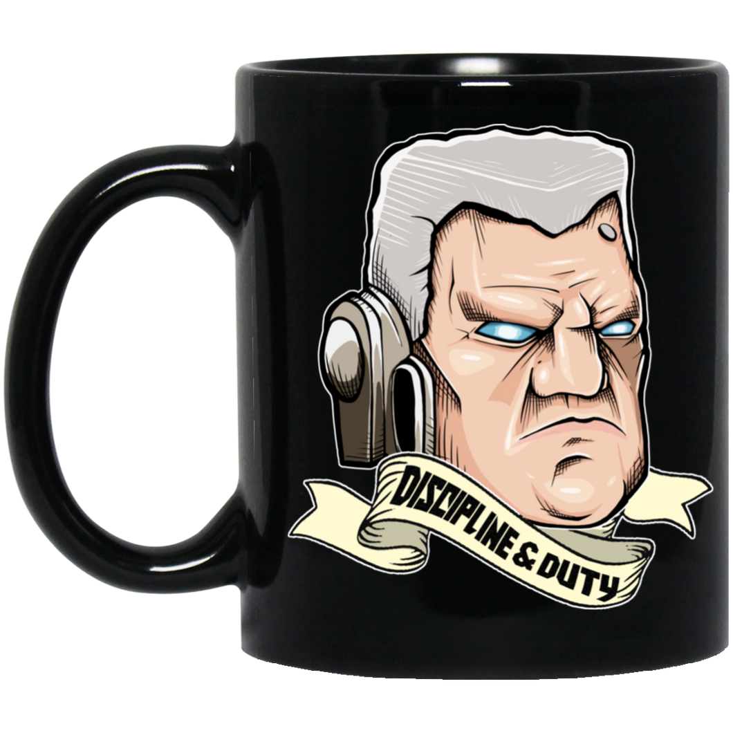 Fists of The Empire Black Mug