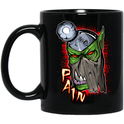 Pain Boss Black Mug