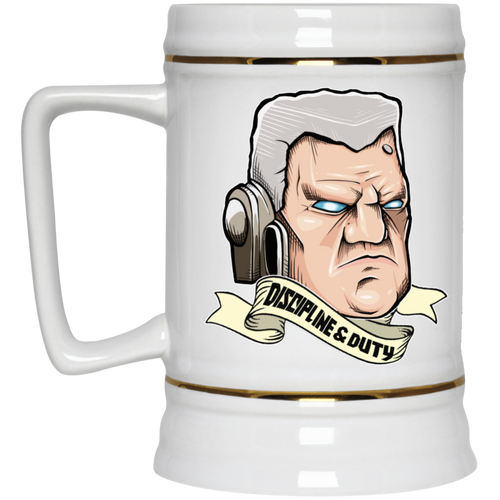 Fists of The Empire Beer Stein