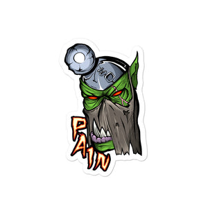 Pain Boss Sticker