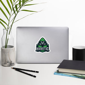 Heretic Stickers Green