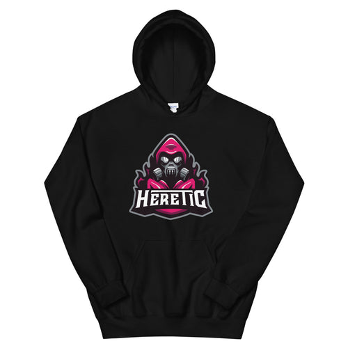 Next Level Heretic Large Logo Hoodie - Magenta