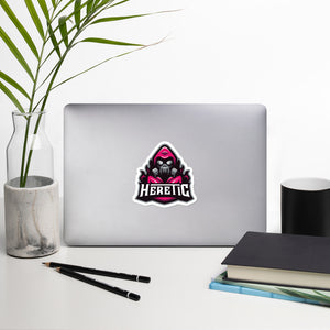 Heretic Logo Magenta Sticker