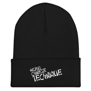 Ancient Chinese Techniques Beanie